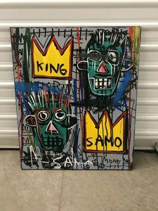 Картины крупных размеров Artworks Artworks после Jean Michel Basquiat Home Decor Gentcrafts / HD Печать Маслом живопись на холсте настенное искусство Изображение 210210