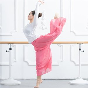 Stage Wear 2021 Arrival Fashion Ballet Dance Costume Solid Color High Waist Translucent Pants Thin Breathable Training Trousers