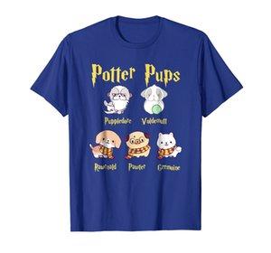Harry Pawter Cute Puppy Dogs Potter Pups T Shirt