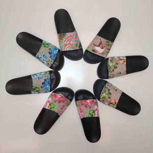 2021 Moda Erkek Bayan Yaz Sandalet Plaj Terlik Bayanlar Flip Flop Loafer'lar Kutu Toz Çanta Boyutu Ile Slaytlar Ayakkabı 35-45