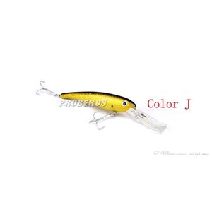 New Big Saltwater Fishing Lure Abs Plastic Swimbaits 10colors 20cm 41g Deep Diving Wobbler Fishing Bait jllGLw insyard