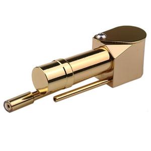 Brass Proto Pipe Vaporizer Deluxe Metal Smoking Pipes Ashtray Bowl Smoke Pipes Tool Portable
