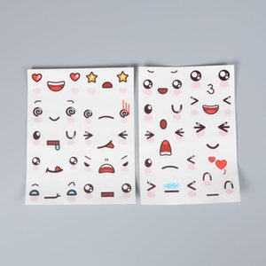 Hand Account Sticker Package Small Fresh Creative Cute Cartoon Diary Decoration Material Expression Poster KUEW723