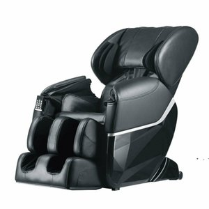 New Electric Full Body Shiatsu Massage Chair Recliner Zero Gravity w Heat 77 HWF5054