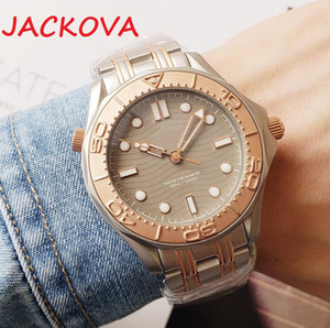 Высочайшее качество коричневый мужской 41 мм сапфировый мужской день дата автоматического движения механические часы подместители 316L наручные часы из нержавеющей стали