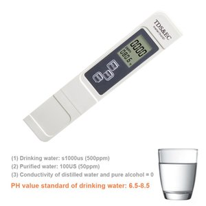 Digital TDS Water Quality Meter Water Hardness Aquarium Pool Purity Testing Pen Swimming Portable Outdoor Elements