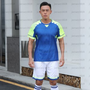 082Children's Football Areaining Suit Boys 'Quick Asciugatura Sport Suit Summer Manica Corta Studente Student Football Genit Bambino Vestito