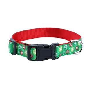 Dog Collars & Leashes Christmas Design Pet Collar Cute And Fashion Collier Chien Halsband Hond