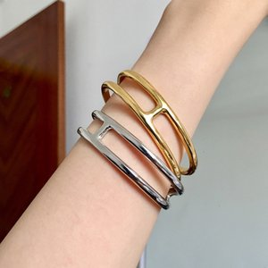 Famous Brand H-shaped Opening Ladies Bracelet Fashion Classic Evere D'ancre Designer Bracelet Luxury Jewelry Women Bracelet and Original Box