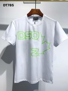 Dsquared2 Dsquared Dsq Dsq2 DQ Phantom Kaplumbağa 2020ss Yeni Erkek Tasarımcı T Gömlek İtalya Moda Tişörtleri Yaz Erkekler DQ T-shirt Erkek En Kaliteli 100% Pamuk Top 3987 SSU