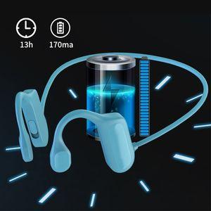 TWS Bluetooth 5.2 Bone Conduction Earphone BL09 Wireless Headphones HiFi Outdoor Sport Headset with Microphone Handsfree Headsets For Iphone Samsung Xiaomi