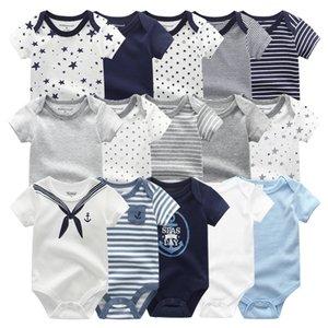 2021 للجنسين 5 قطع طفلة ملابس قطنية داخلية الوليد الطفل بوي الملابس الكرتون طباعة الفتيات ملابس الطفل روبا بيبي 210303