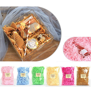 Gift box color shredded paper candy red wine gift box packaging filler shredded paper silk holiday wedding gift packaging XD22679