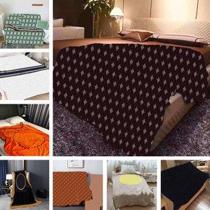 Weiche Wolldecken Schal Jacquard Brief Startseite Sofa Bett Nap Decke Outdoor Auto Tragbare Schal Teppiche