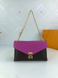 Последняя цепь Crossbody Bag оригинальные высококачественные роскоши дизайнеры монограммы сумки женщин мессенджер сумочка женские моды летние роскошь бренды брендов