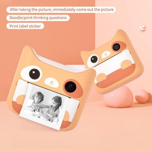 Digital Cameras Children Camera With Print Instant Pos Kids Toys Boy Girl Cute Christmas Gift 1080P Video