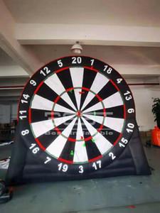 3m / 4m Hohe aufblasbare Fußball-Dart für Kinder Sport Outdoor Fun Football Board Sport Interessantes Spiel Fußball Dart Ziel Inflation