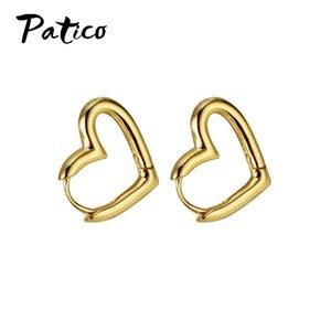 Nouvelle vente 100% 925 Sterling Silver Heart Coeur de luxe Boucles d'oreilles de luxe Fashion Dangale Boucle d'oreille pour femmes Party Bijoux fins