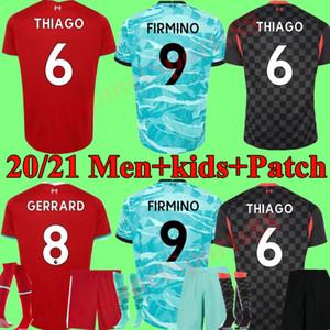 Men Kids kit Mohamed HENDERSON soccer jersey football shirts youth boys 20 21 A.BECKER SHAQIRI child 2020 2021 uniforms