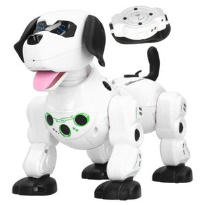 2.4G Wireless Remote Control Smart Animals Toy Robot Dog Kids Smart RC Toys Electronic Toys with Touch Sense Watch Control