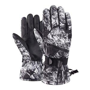 PHMAX Ski Gloves Men Winter Windproof Snowboard Women Thermal Fleece Warmer Gloves Waterproof Touch Screen Skating Gloves 243 B3