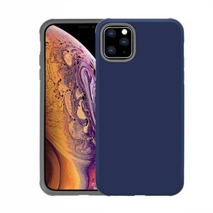 2021Dual Layers Hybrid Armor Slim Shockproof Commuter Defender Cases for iPhone 11 Pro Max XR XS MAX 8 7 Samsung S10 S10 Plus