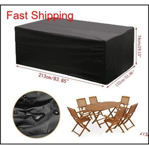 Outdoor Folded Oxford Cloth Furniture Cover Dust Proof Waterproof Furniture Cover Porta qylUfl sports2010