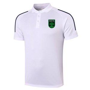 2021 Austin FC Futbol Polo Gömlek Futbol Eğitimi Polos Spor Formaları Yetişkin Futbol Kısa Kollu Polos Yaz T-shirt Giyim erkek Polos