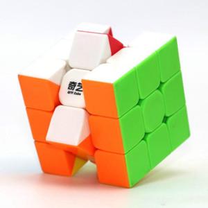 2021 Qiyi Speed Cubo Magic Rubix Cubo Guerreiro 5.5cm Easy Torning adesivo Durável gratuito para jogadores iniciantes