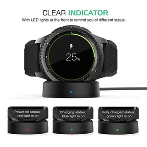 Wireless Fast Charger for Samsung Gear S3 Frontier S2 Watch Charger for Samsung Galaxy Watch