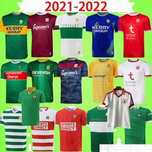 17 styles 2021 2022 Dublin GAA Home Training rugby Jersey 21 22 ÁTH CLIATH shirt top uniform DAVID TREACY TOM CONNOLLY Retro size S-5XL T-shirt