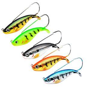5 цвет 8.5см 21,2 г джигов крючков рыболовные крючки рыболовные крючки Hardhhooks Hard Baits приманки J-002 395 x2