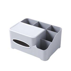 Bathroom Storage & Organization Cosmetics Box Tissue Office Desktop Pencil Holder Makeup Organizer Table Family Sundries Container Stora