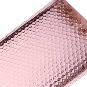 20Pcs Rose Gold Bubble Envelope Foam Foil Mailing Bag Mailer Envelopes For Gift Packaging Small