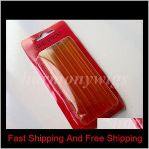 Fusion Keratin Glue Sticks 7mmx100mm For Glue Gun Hair Extension Tools For Tape Hair Extensions qylmqG comecase