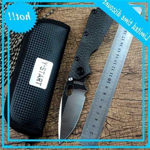 SMF Strider Pocket Knife D2 Folding Blade Ball Bearing Carbon Fiber Flame Titanium Handle for Outdoor Tactical Searching Hunting