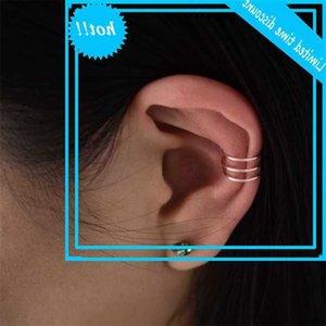 925 Silver Manchet Gold Filled Jewelry Handmade Ear Clipper Pendants Nep Piercing Boho Women's Earrings