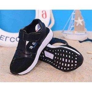 fashion summer trend girl sandals soft bottom lie fallow beach shoes boys 210922