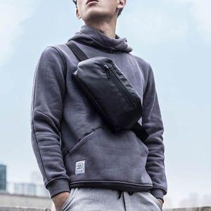 xiaomi youpin 90 points fashion Pocket bag backpack waist pack waterproof 2 kinds of negative ways Warning light bar 3006156-B1