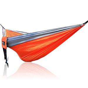 Portable Hammock Double Person Camping Survival garden hunting Leisure travel furniture Parachute Hammocks 300*200cm