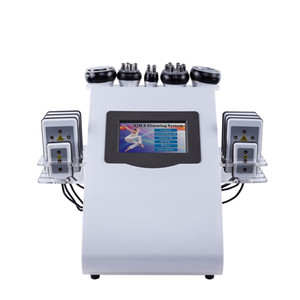 2020 Новое поступление 6 в 1 40 тыс. Ультразвуковой кавитационный вакуумный радиочастотный лазер 8 прокладки Lipo лазерная машина для похудения для домашнего использования C0301