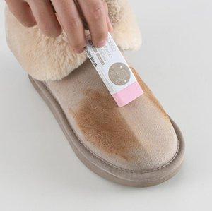 كتلة مطاطية للأحذية الجلدية جلد الغزال التمهيد تنظيف ممحاة الرعاية نظيفة ممحاة حذاء حذاء مسح الشعر الطبيعي فرك نظافة