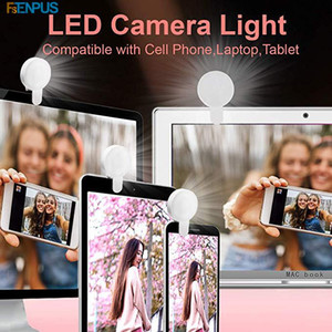 الصمام الجمال ملء مصباح الهاتف selfie الدائري ضوء المحمولة دائرة التصوير كليب ضوء الهاتف كاميرا مصباح قابلة للشحن الهدايا الجدة