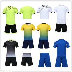 2021 Soccer jersey Sets smooth Royal Blue football sweat absorbing and breathable children's training suit 001 43924