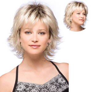 Amazon Hot Sale Short Curly Wig Wig Side Bangs Small Volume European and American Style High Temperature Hair Set