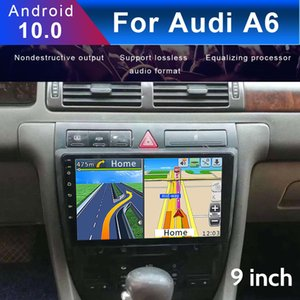 Car Navigator For Audi A6 1997-2004 9 Inch HD Touch Screen Android 10 Auto Stereo Radio Audio Smart Voice Radio Multimedia Video Player