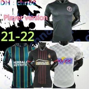 Игрок версии MLS 21 22 Soccer Jersey Montreal La Lafc Galaxy Internineal Minnesota Miami 2021 2022 Atlanta United York футбольные рубашки