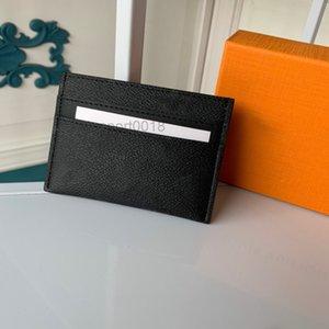 Meilleure Qualité Véritable Cuir Mens Portefeuille Avec Box S S Portefeuille Femme Porte-monnaie Porte-cartes Porte-passeport Porte-passeport 88