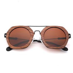 2021 Vintage Wooden Sunglasses for Men and Women,polaried Lens Uv400 New Design Zdop
