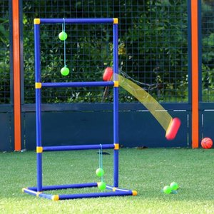 Outdoor Play Camping Lawn Funny Golf Toy Backyards Non Toxic Portable Ladder Ball Set Adults Toss Game Kids Sport